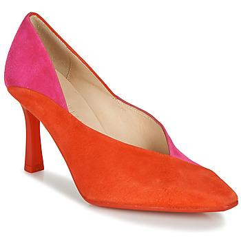 Shoes Women Heels Hispanitas PARIS-8 Red / Pink