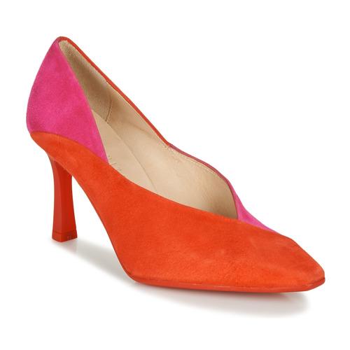 Shoes Women Heels Hispanitas PARIS-7 Red / Pink