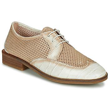 Shoes Women Derby Shoes Hispanitas LONDRES Beige / White
