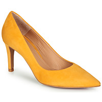 Shoes Women Heels Perlato 10509-CAM-SAFFRON Yellow