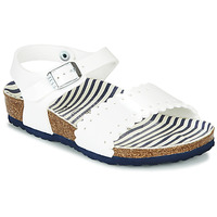 Shoes Girl Sandals Birkenstock RISA White
