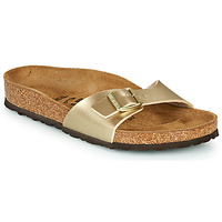 Shoes Women Mules Birkenstock MADRID Gold