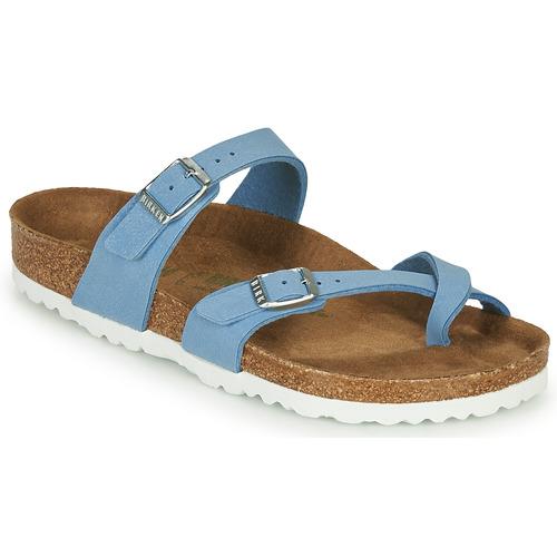 Shoes Women Sandals Birkenstock MAYARI Blue