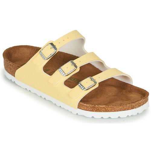 Shoes Women Mules Birkenstock FLORIDA Yellow