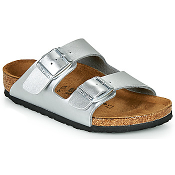 Shoes Girl Mules Birkenstock ARIZONA Silver