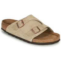 Shoes Mules Birkenstock ZURICH SFB LEATHER Grey