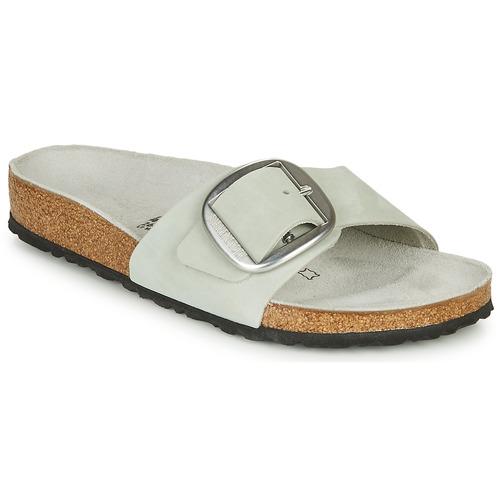 Shoes Women Mules Birkenstock MADRID BIG BUCKLE Grey
