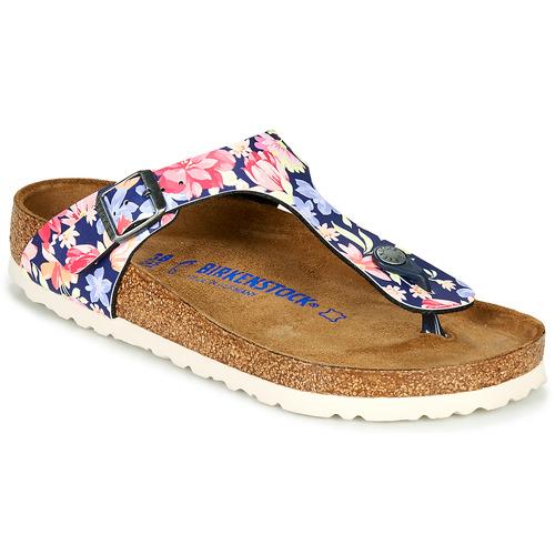 Shoes Women Flip flops Birkenstock GIZEH Multicoloured