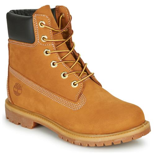 Shoes Women Mid boots Timberland Timberland Premium Tan