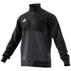 Clothing Men Track tops adidas Originals Tiro 17 Training Jacket Black, Graphite