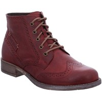 Shoes Women Mid boots Josef Seibel Sienna 74 Womens Brogue Ankle Boots red