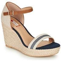 Shoes Women Sandals S.Oliver NOULATI Beige / Marine