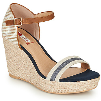 Shoes Women Sandals S.Oliver NOULATI Beige / Marine
