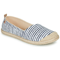 Shoes Women Espadrilles Roxy FLORA II J SHOE Blue / White