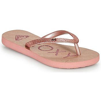 Shoes Girl Flip flops Roxy VIVA GLTR III Pink