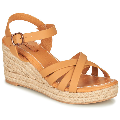 Shoes Women Sandals Roxy ELEANOR Brown