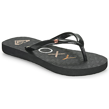 Shoes Girl Flip flops Roxy SANDY III Black