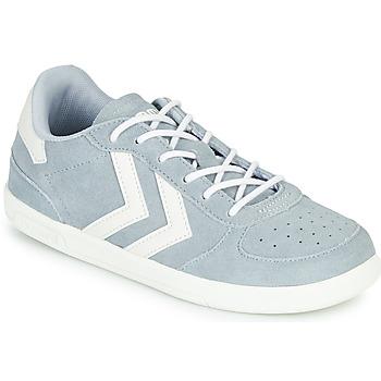 Shoes Children Low top trainers Hummel VICTORY JR Grey