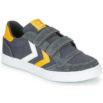 Shoes Children Low top trainers Hummel STADIL LOW JR Grey