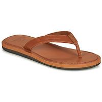 Shoes Men Flip flops Quiksilver MOLOKAI NUBUK II Brown