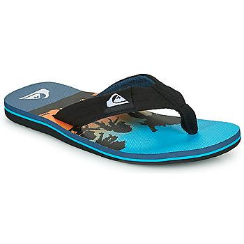 Shoes Children Flip flops Quiksilver MOLOKAI LAYBACK Blue