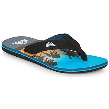 Shoes Men Flip flops Quiksilver MOLOKAI LAYBACK Blue / Black
