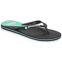 Shoes Men Flip flops Quiksilver MOLOKAI NEW WAVE Black / Blue