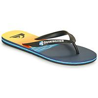 Shoes Men Flip flops Quiksilver MOLOKAI HOLD DOWN Black / Blue