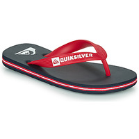 Shoes Children Flip flops Quiksilver MOLOKAI YOUTH Blue / Red