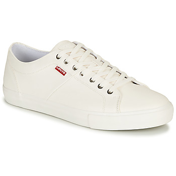 Shoes Men Low top trainers Levi's WOODWARD White