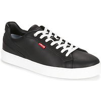 Shoes Men Low top trainers Levi's VERNON TD Black