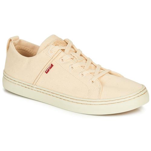 Shoes Men Low top trainers Levi's SHERWOOD LOW Beige