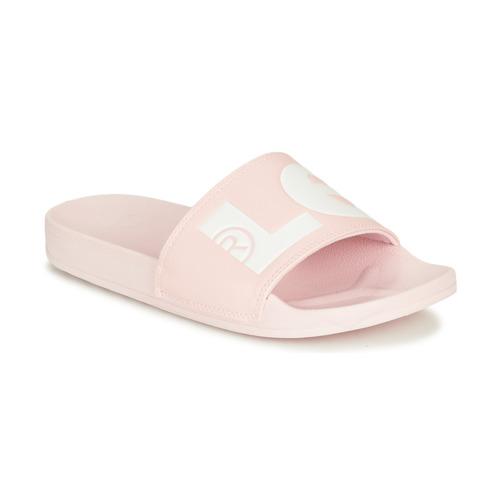 Shoes Women Sliders Levi's JUNE L S Pink
