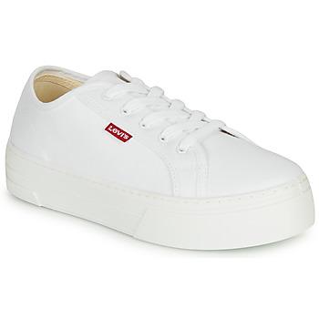 Shoes Women Low top trainers Levi's TIJUANA White
