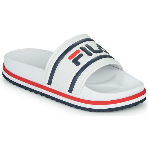 Shoes Women Sliders Fila MORRO BAY ZEPPA WMN White