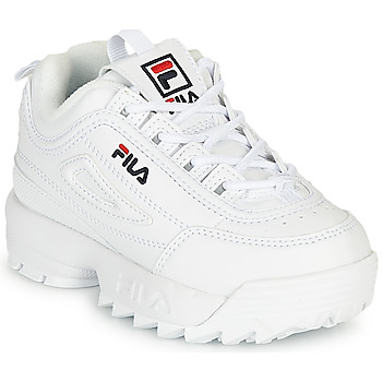 Shoes Children Low top trainers Fila Disruptor Infants White