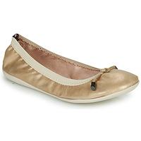 Shoes Women Flat shoes Les Petites Bombes AVA Gold