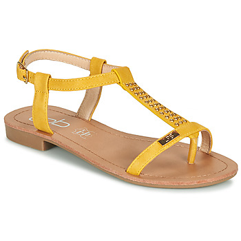 Shoes Women Sandals Les Petites Bombes EMILIE Mustard