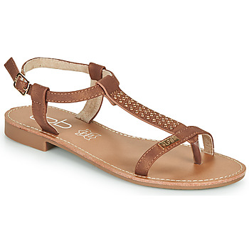 Shoes Women Sandals Les Petites Bombes EMILIE Camel