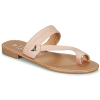 Shoes Women Flip flops Les Petites Bombes EVA White / Silver