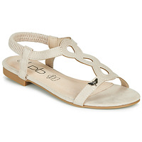 Shoes Women Sandals Les Petites Bombes FLORA Beige