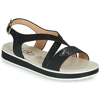 Shoes Women Sandals Les Petites Bombes MARIA Black
