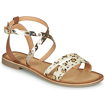 Shoes Women Sandals Les Petites Bombes AGATHE Gold