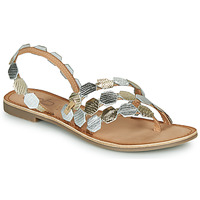Shoes Women Sandals Les Petites Bombes ALICIA Silver
