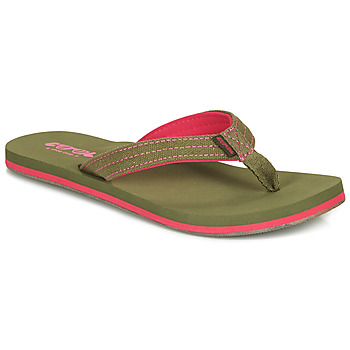Shoes Women Flip flops Cool shoe SKILL Kaki