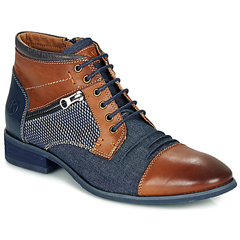 Shoes Men Mid boots Kdopa BILLY Brown / Blue
