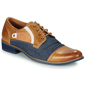 Shoes Men Derby Shoes Kdopa JONES Camel / Blue