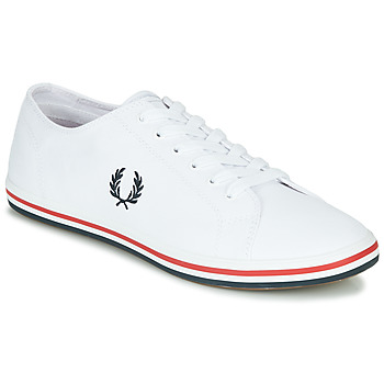 Shoes Men Low top trainers Fred Perry KINGSTON TWILL White