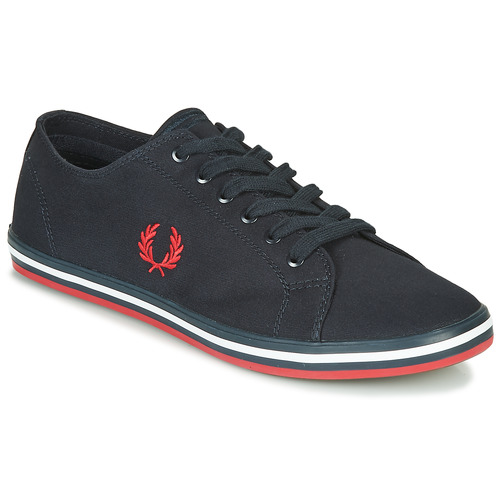 Shoes Men Low top trainers Fred Perry KINGSTON TWILL Blue