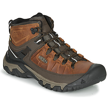 Shoes Men Walking shoes Keen TARGHEE III MID WP Brown